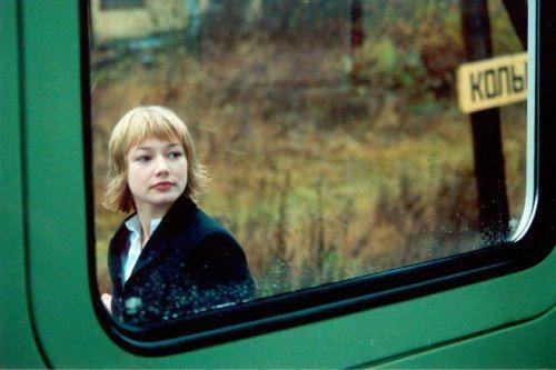 Oksana Akinshina in the film In Motion