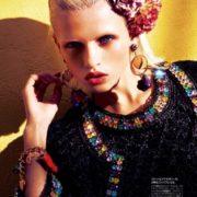 Original model Anja Konstantinova