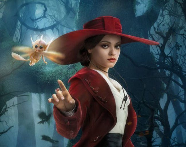 Oz The Great and Powerful. Pretty Kunis