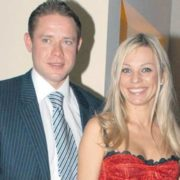 Pavel Bure and Irina Saltykova