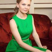 Popular model Lena Kuletskaya