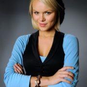 Pretty actress and model Anna Monzikova