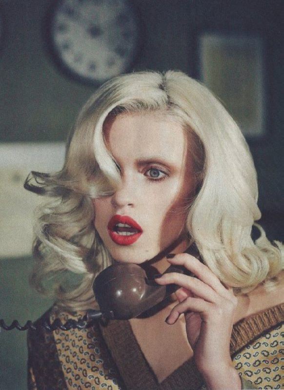 Pretty model Anja Konstantinova