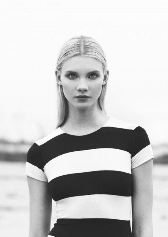 Pretty model Dasha Zhemkova