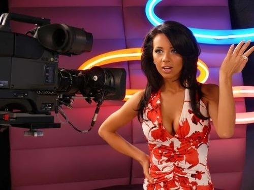 Alexandra Pavlova beautiful TV presenter