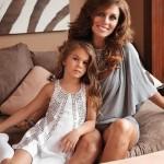 Sedokova with daughter