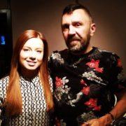 Sergey Shnurov and Yulia Savicheva