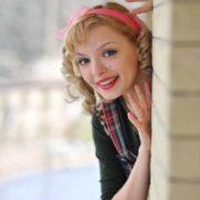Stunning actress Orlova Marina