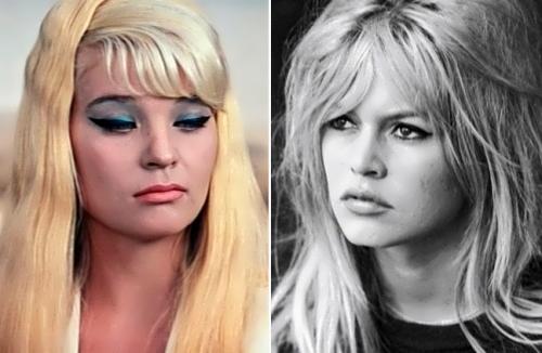 Svetlana Svetlichnaya and Brigitte Bardot