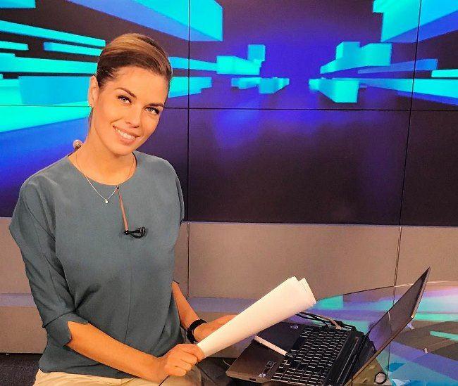 TV presenter Vera Krasova