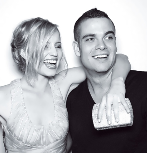 Mark Salling And Dianna Agron 2014