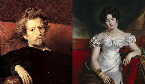 Countess Yulia Samoilova and Karl Bryullov – love story