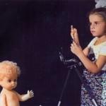 sedokova in her childhood