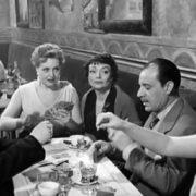 Actress Kedrova in the film The Main Street, 1956