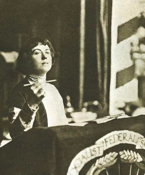 Kollontai Alexandra revolutionary