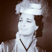 Attractive actress Bystritskaya Elina