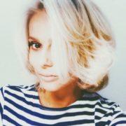 Beautiful singer Ksenia Novikova