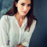 Bright actress Yulia Zimina