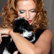 Bright model and actress Rodionova Olga