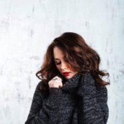 Charming actress Olerinskaya Ingrid