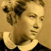 Charming singer Edita Pieha in her youth