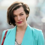 Fabulous actress Jovovich Milla