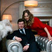 Fantastic Koroleva Svetlana and her husband
