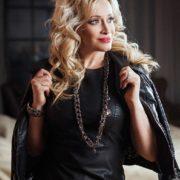 Fashionable singer Gulkina Natalia