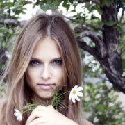 Gorgeous model Dasha Kapustina