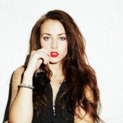Graceful actress Olerinskaya Ingrid