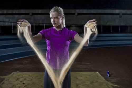 Daria Klishina beautiful Russian athlete