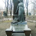 Komissarzhevskaya's grave