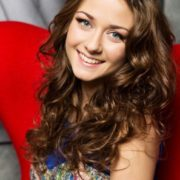 Lovely actress Olerinskaya Ingrid