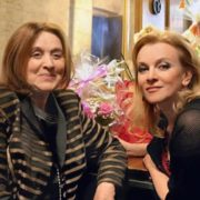 Margarita Terekhova with her daughter Anna