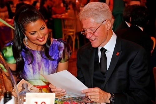 Netrebko Bill Clinton