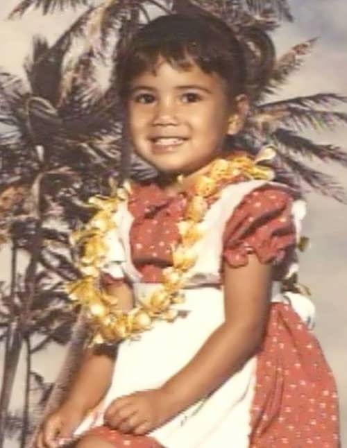 Scherzinger childhood