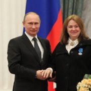 Vladimir Putin and Margarita Terekhova