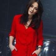 Wonderful actress Olerinskaya Ingrid
