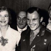 Yuriy Gagarin and Yulia Borisova