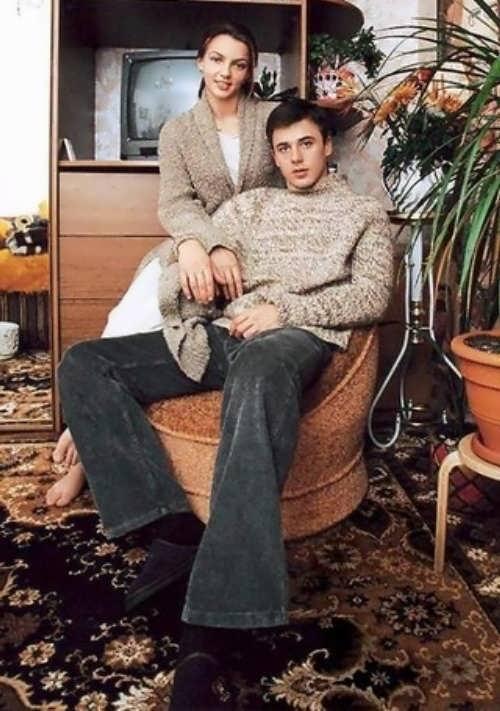 Irina and her first husband Igor Petrenko