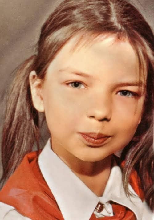 Grebenschikova childhood