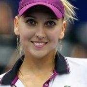 Attractive tennis player Vesnina Elena