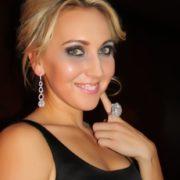 Fantastic tennis player Vesnina Elena