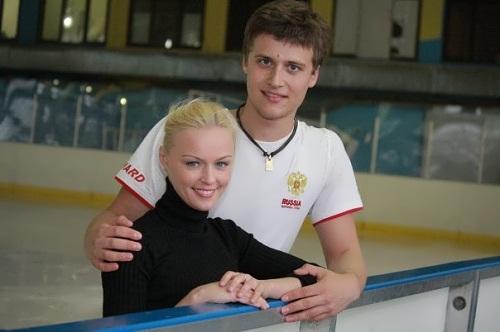 Katarina Gerboldt, Russian figure skater with partner Alexander Enbert