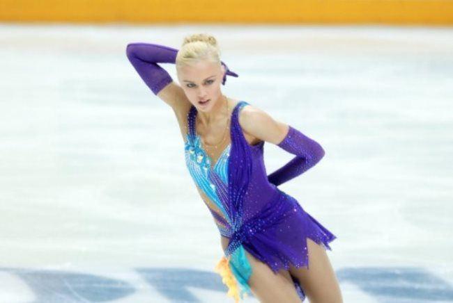 Catharine A Gerboldt, figure skater