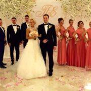 Wedding of Elena Vesnina
