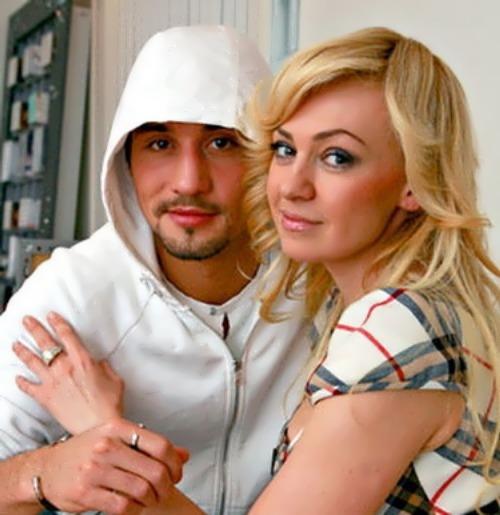 Yana Rudkovskaya and Dima Bilan