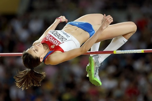 Chicherova anna high jumper