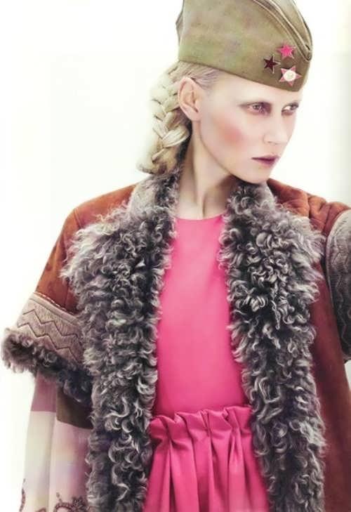 Pechekhonova Colette model