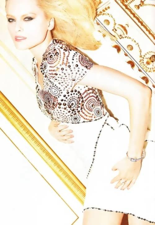 Melnik Elena Russian model